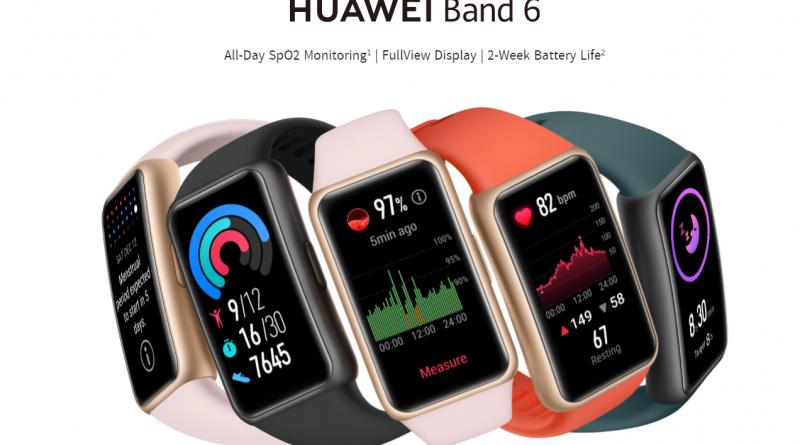 Oxygen Level တိုင်းတာနိုင်ပြီး Workout Modes မျိုးစုံပါဝင်သော အသစ်ထွက်ရှိလာတဲ့ Huawei Band 6