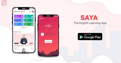 အင်္ဂလိပ်စာကို ကျွမ်းကျင်စွာလေ့လာနိုင်ဖို့ အသစ်ထွက်ရှိလာတဲ့ SAYA Application