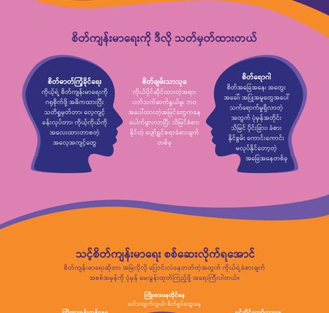 Facebook မှ စိတ်ကျန်းမာရေးနှင့်ပတ်သက်သည့် အရင်းအမြစ်များကို ထုတ်ပြန်